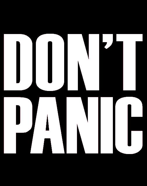 Don't Panic Logo