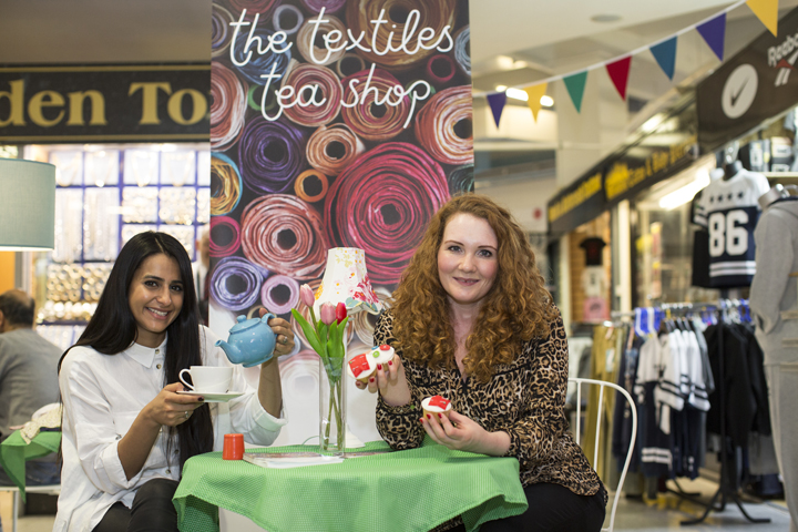Textile Tea Shop Launch