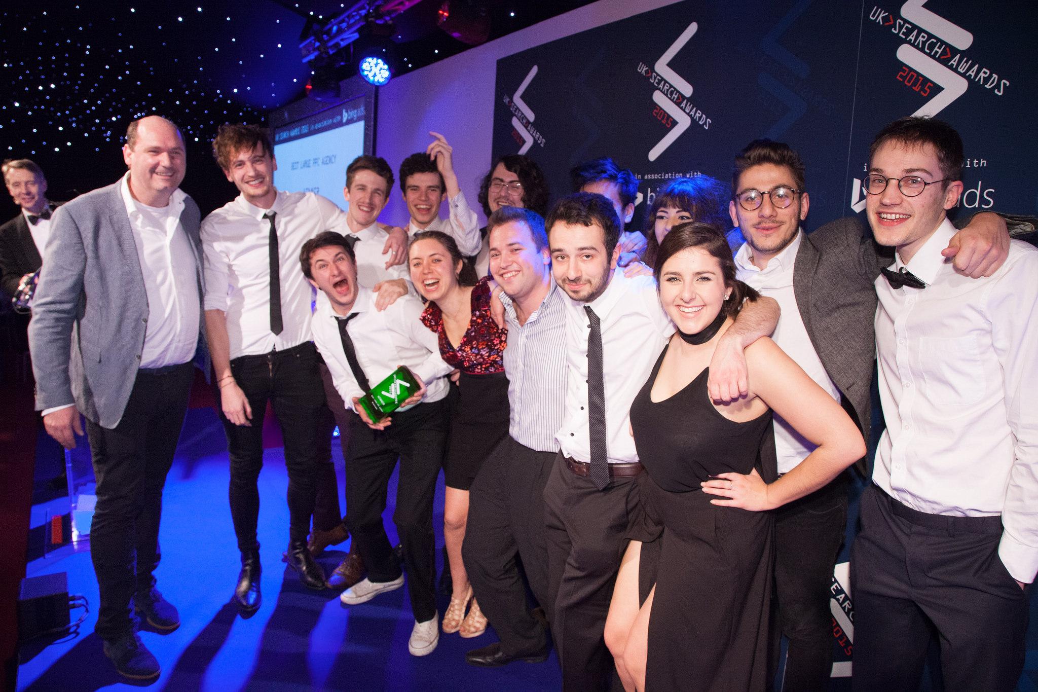 search awards winners