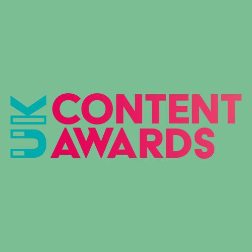 UK Content Awards 2021 Logo