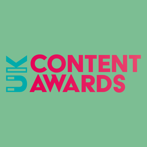 UK Content Awards 2018 Logo