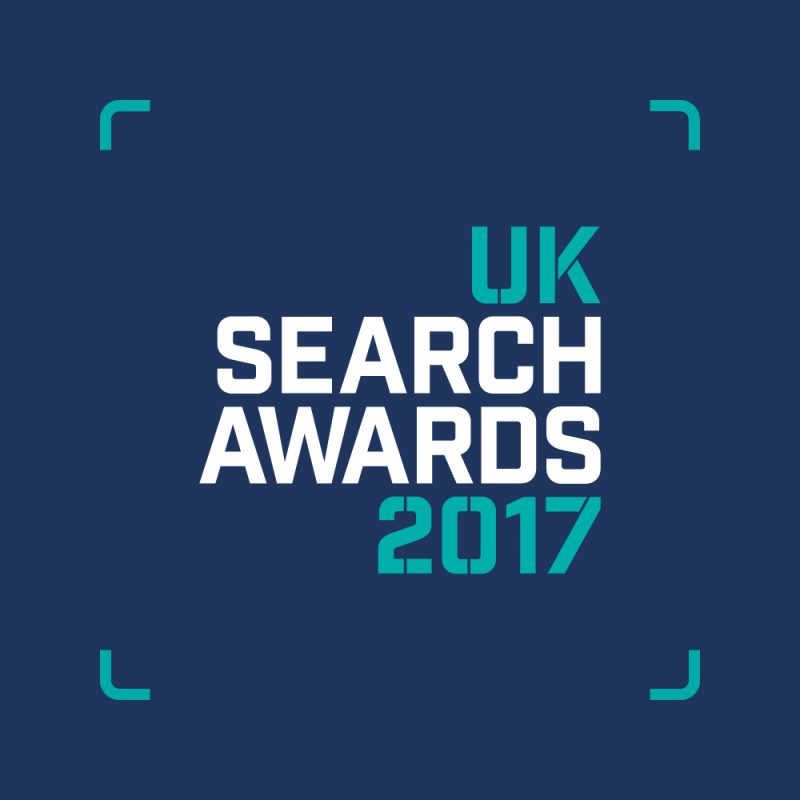 UK Search Awards 2017 Logo