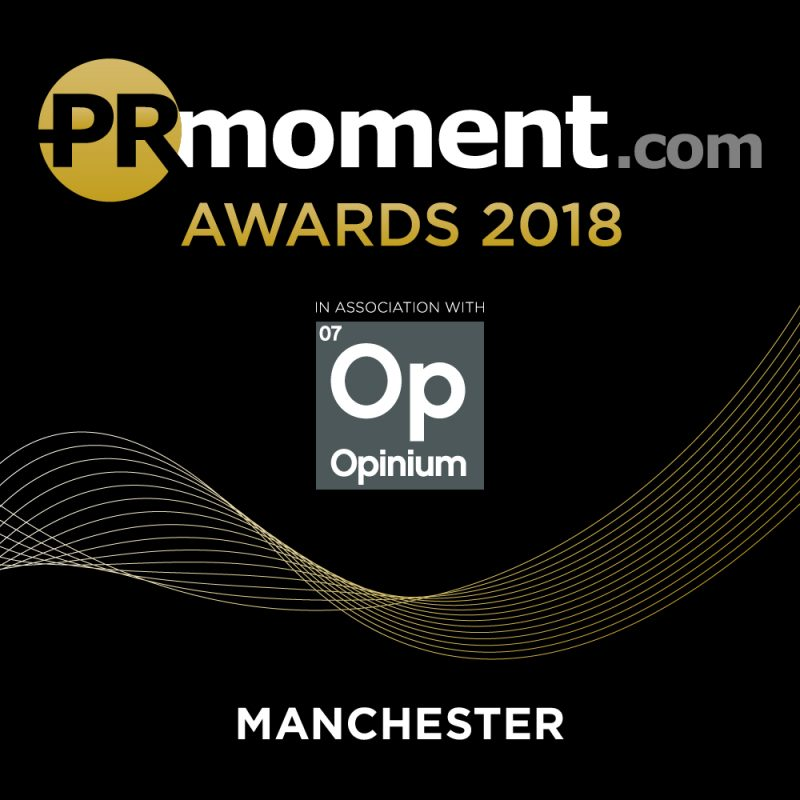 PRMoment Awards 2018 – Manchester Logo