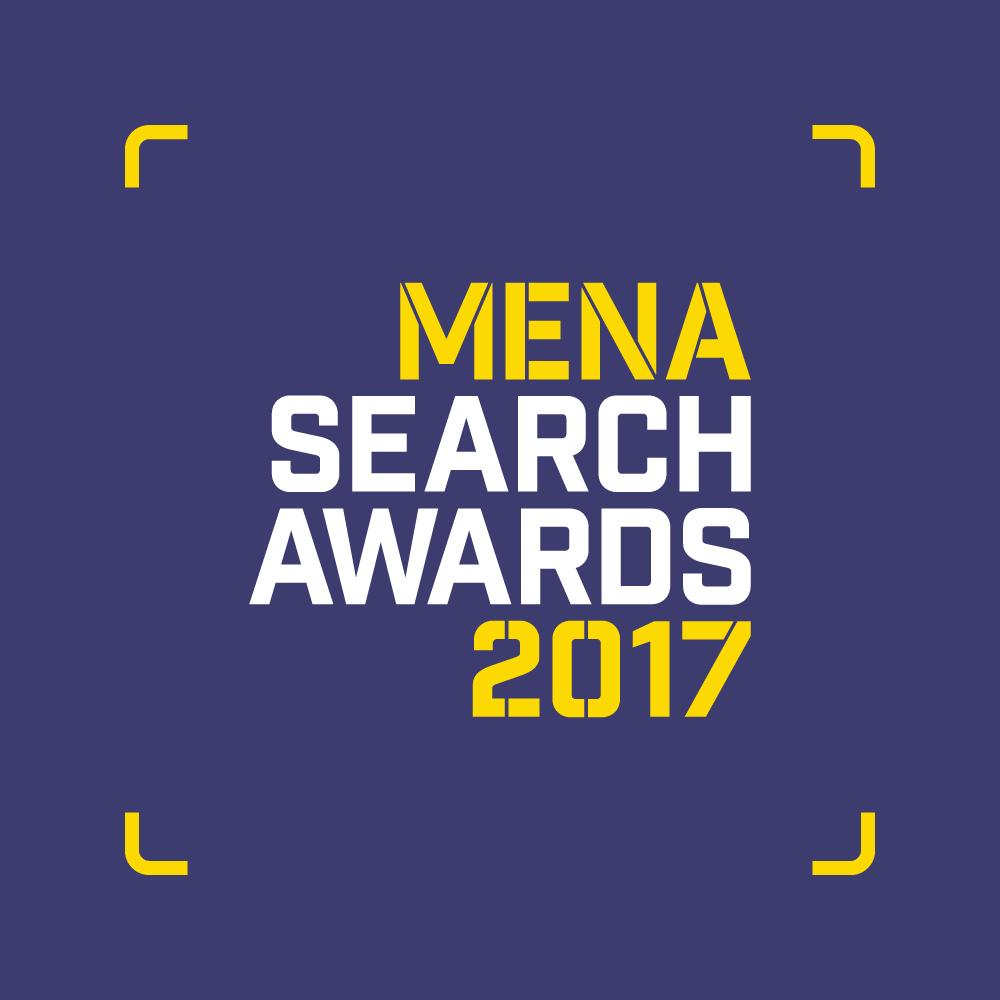 MENA Search Awards 2017 Logo