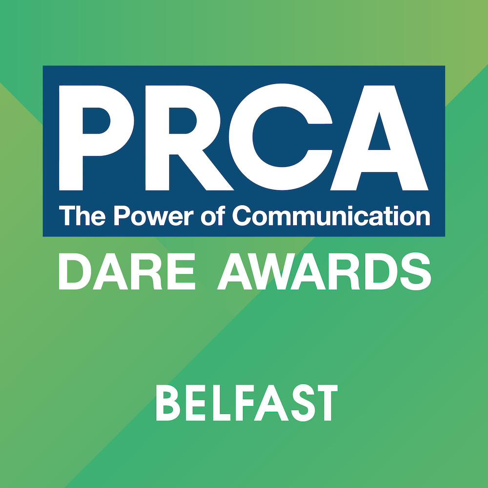 PRCA DARE Awards 2018 – Belfast Logo