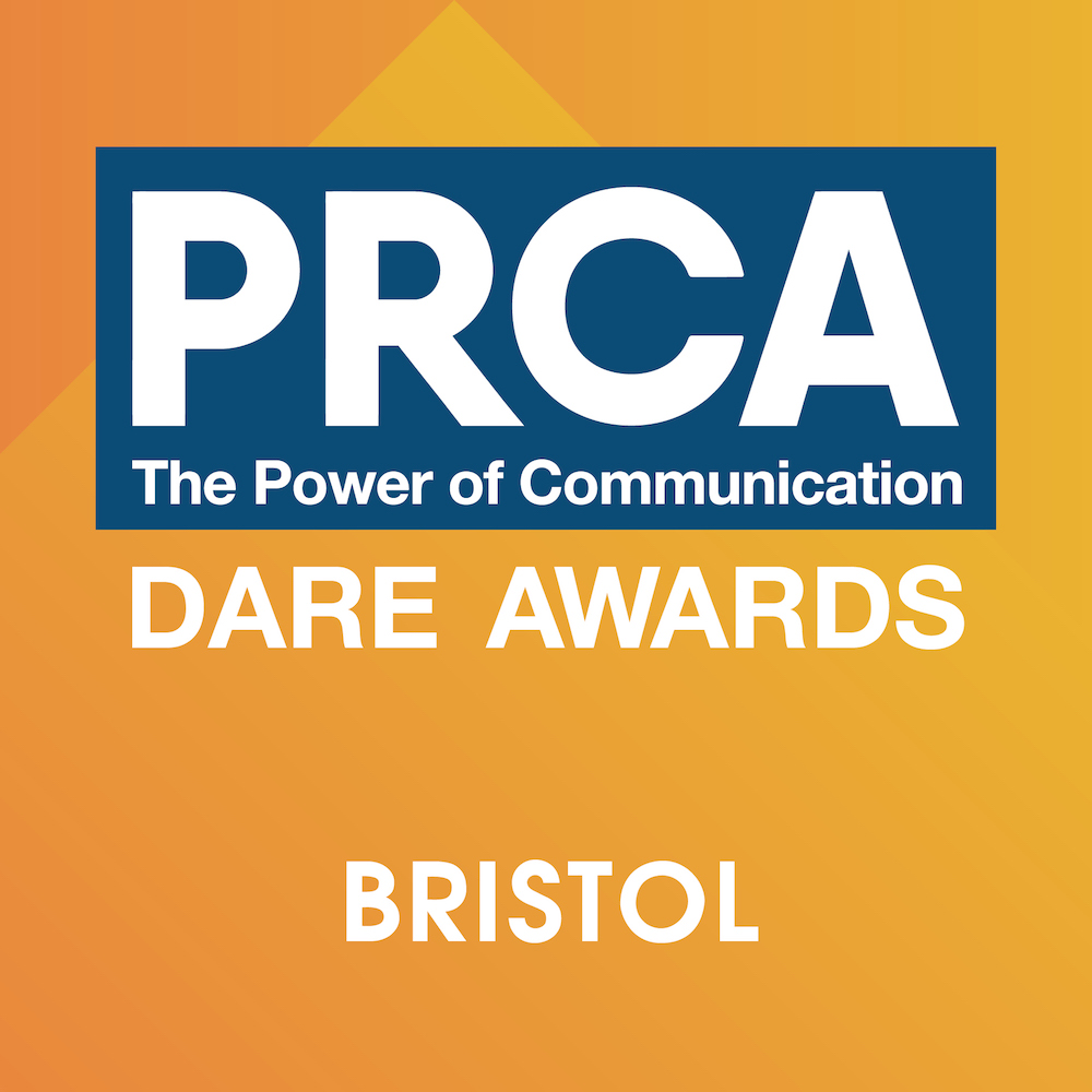 PRCA Dare Awards 2018 – Bristol Logo