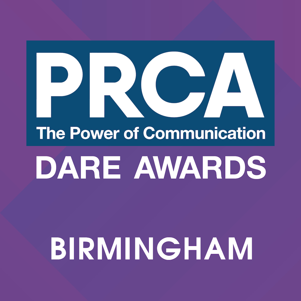 PRCA Dare Awards 2018 – Birmingham Logo