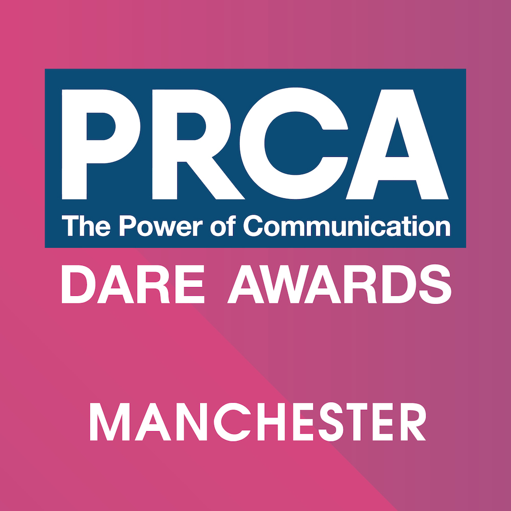 PRCA DARE Awards 2018 – Manchester Logo