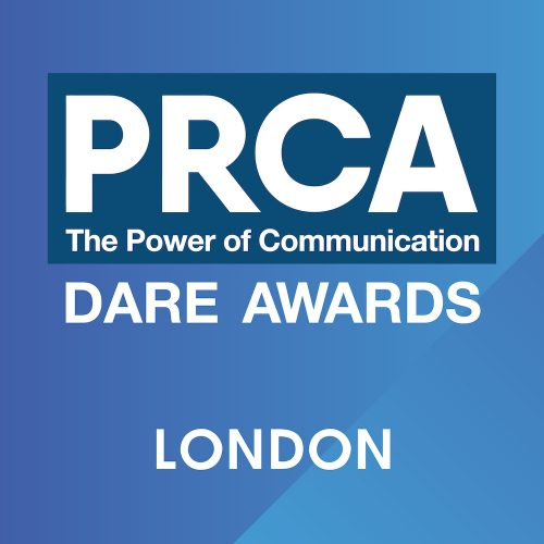 PRCA Dare Awards 2018 – London Logo