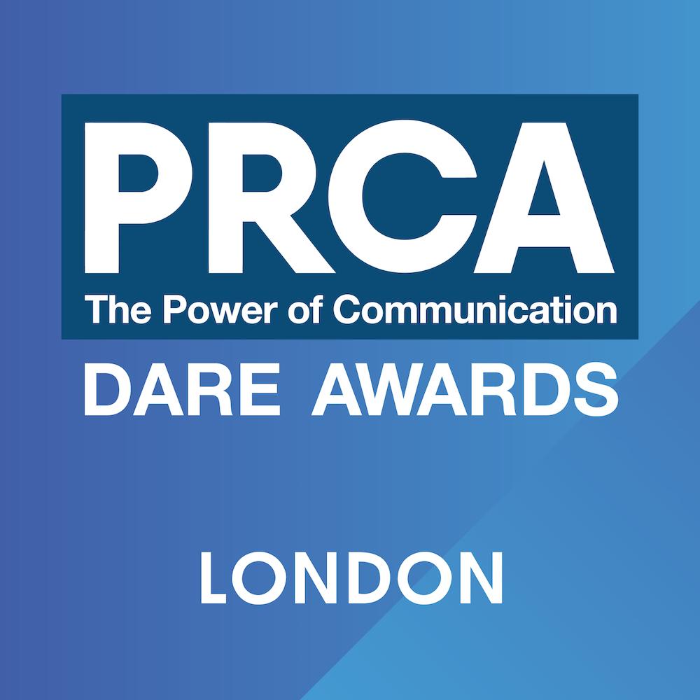 PRCA Dare Awards 2018 – London Logo