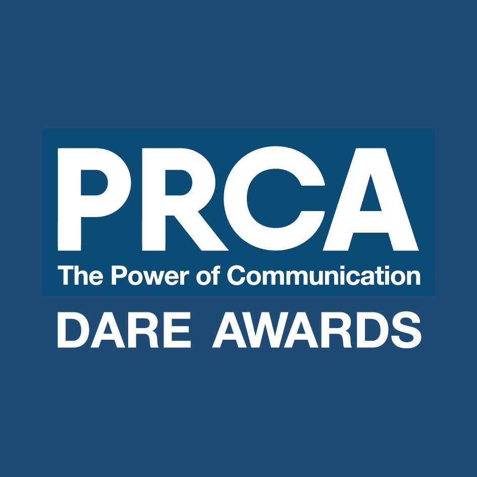 PRCA Dare Awards 2018 Logo