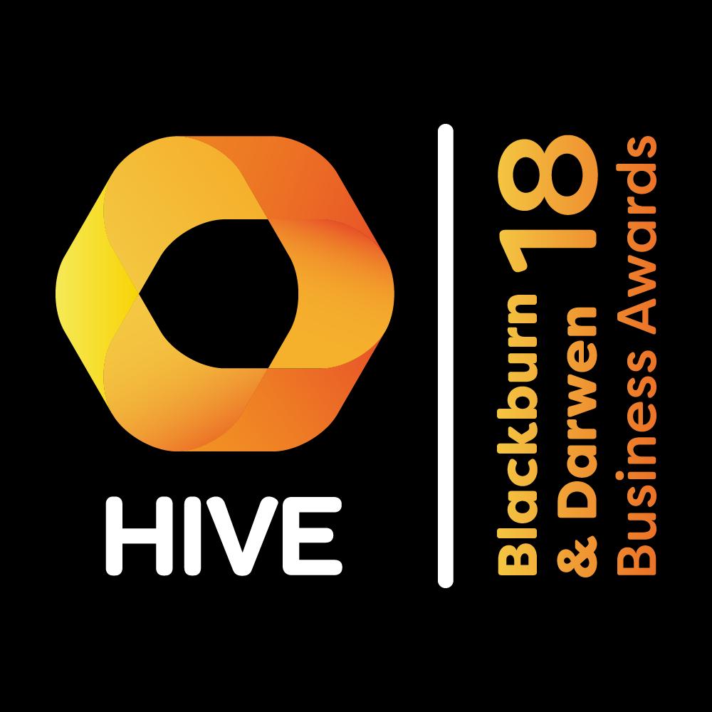 HIVE Blackburn & Darwen Business Awards 2018 Logo