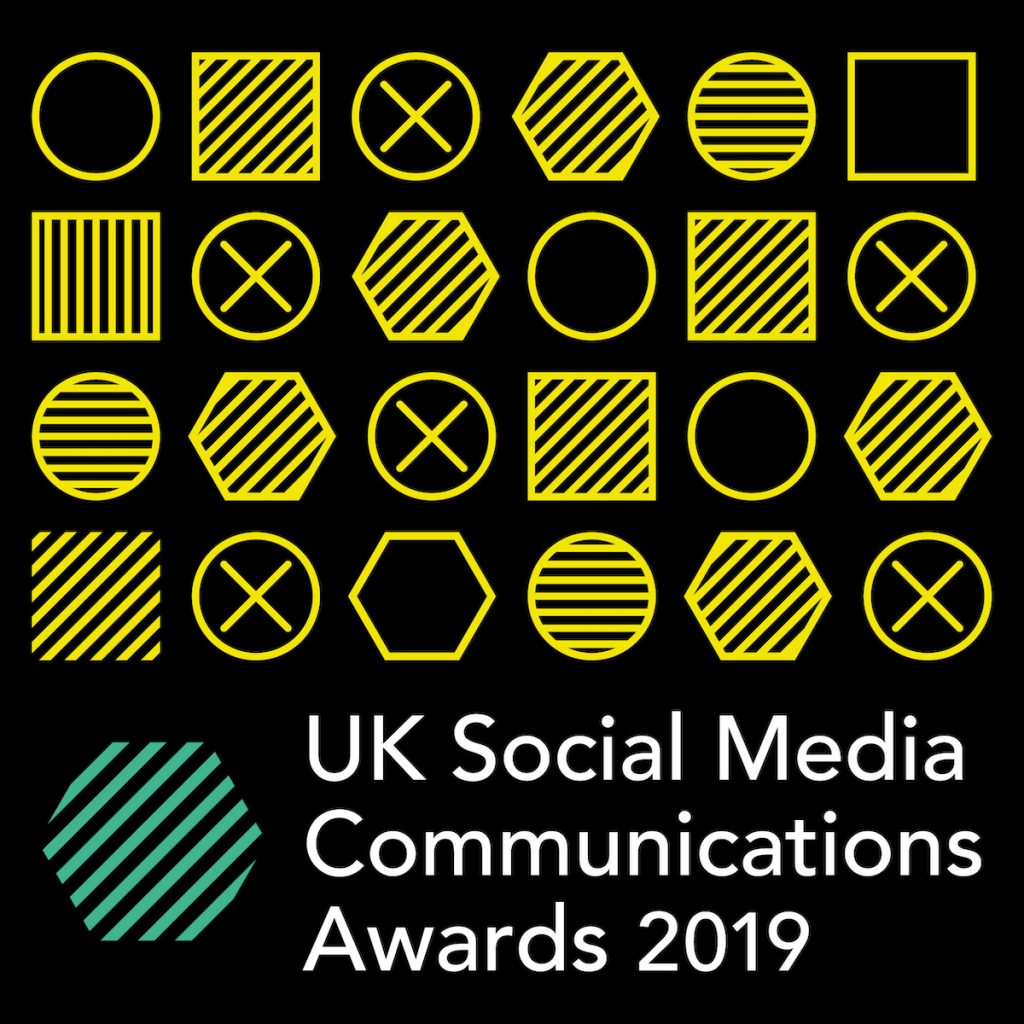 UK Social Media Communications Awards 2019 Logo