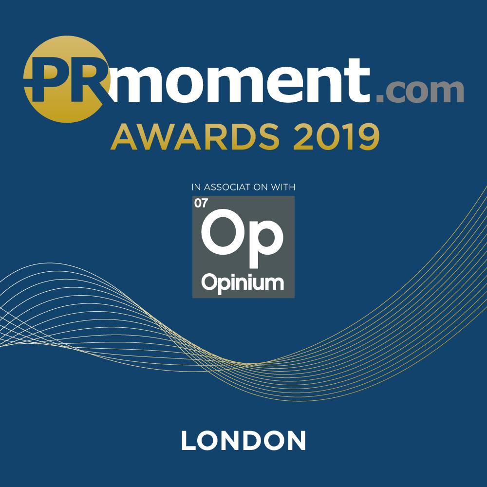 PRmoment Awards 2019 – London Logo
