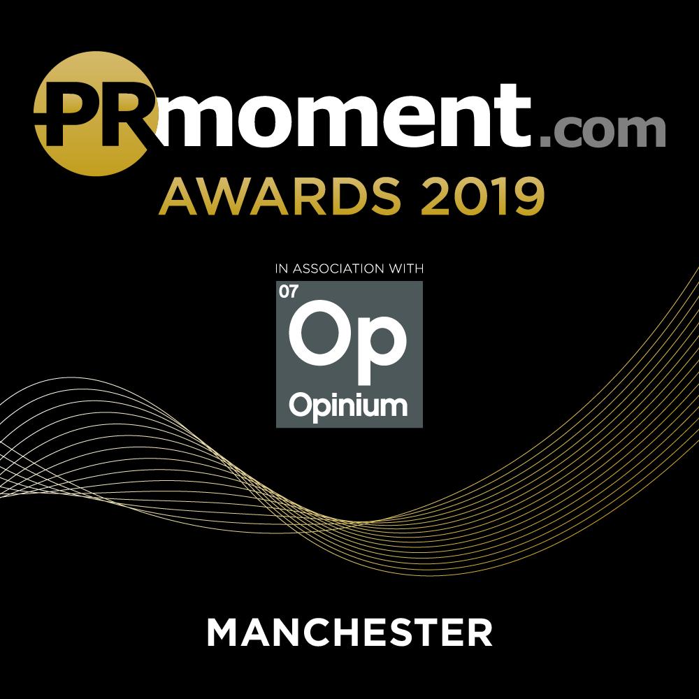 PRmoment Awards 2019 – Manchester Logo
