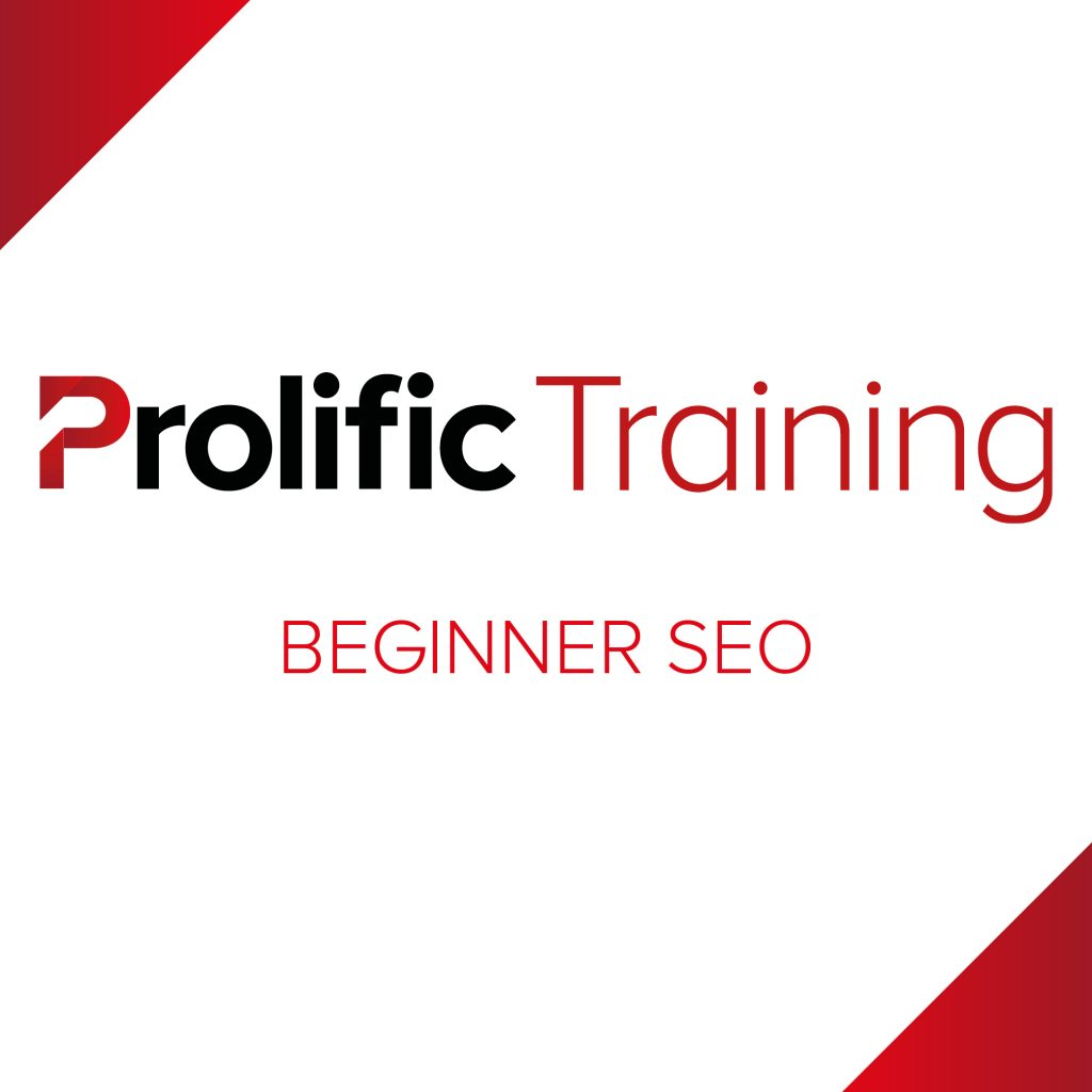Prolific Training – Beginner SEO Logo