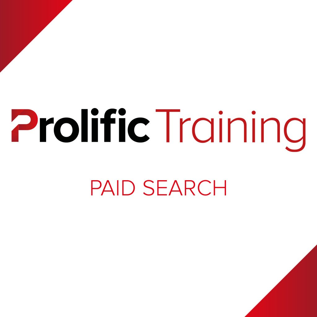 Prolific Training – Paid Search Logo