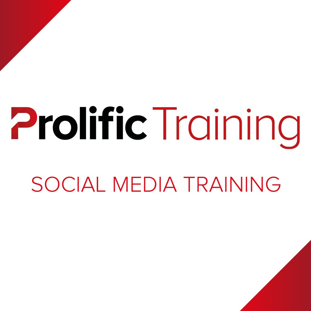 Prolific Training – Social Media Training Logo