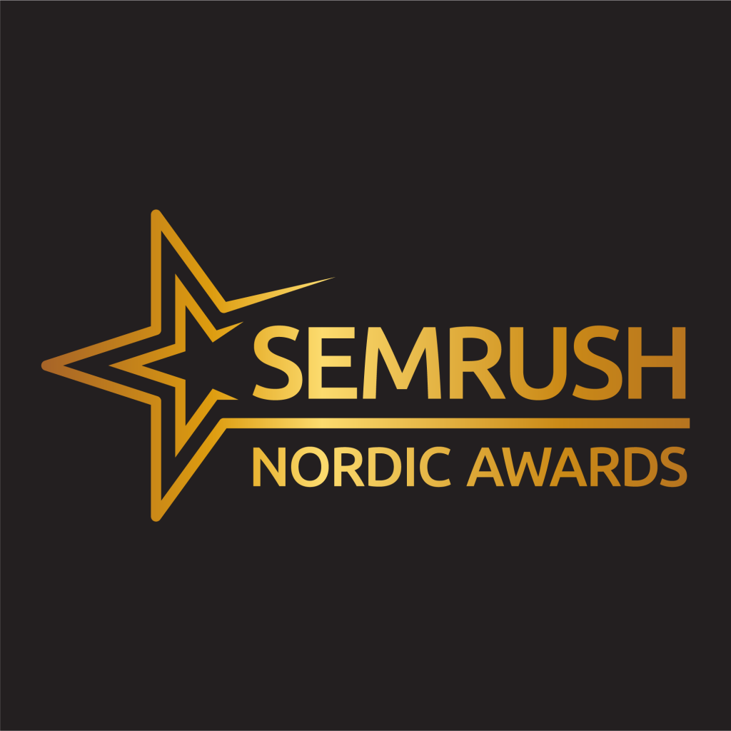 SEMrush Nordic Awards 2019 Logo
