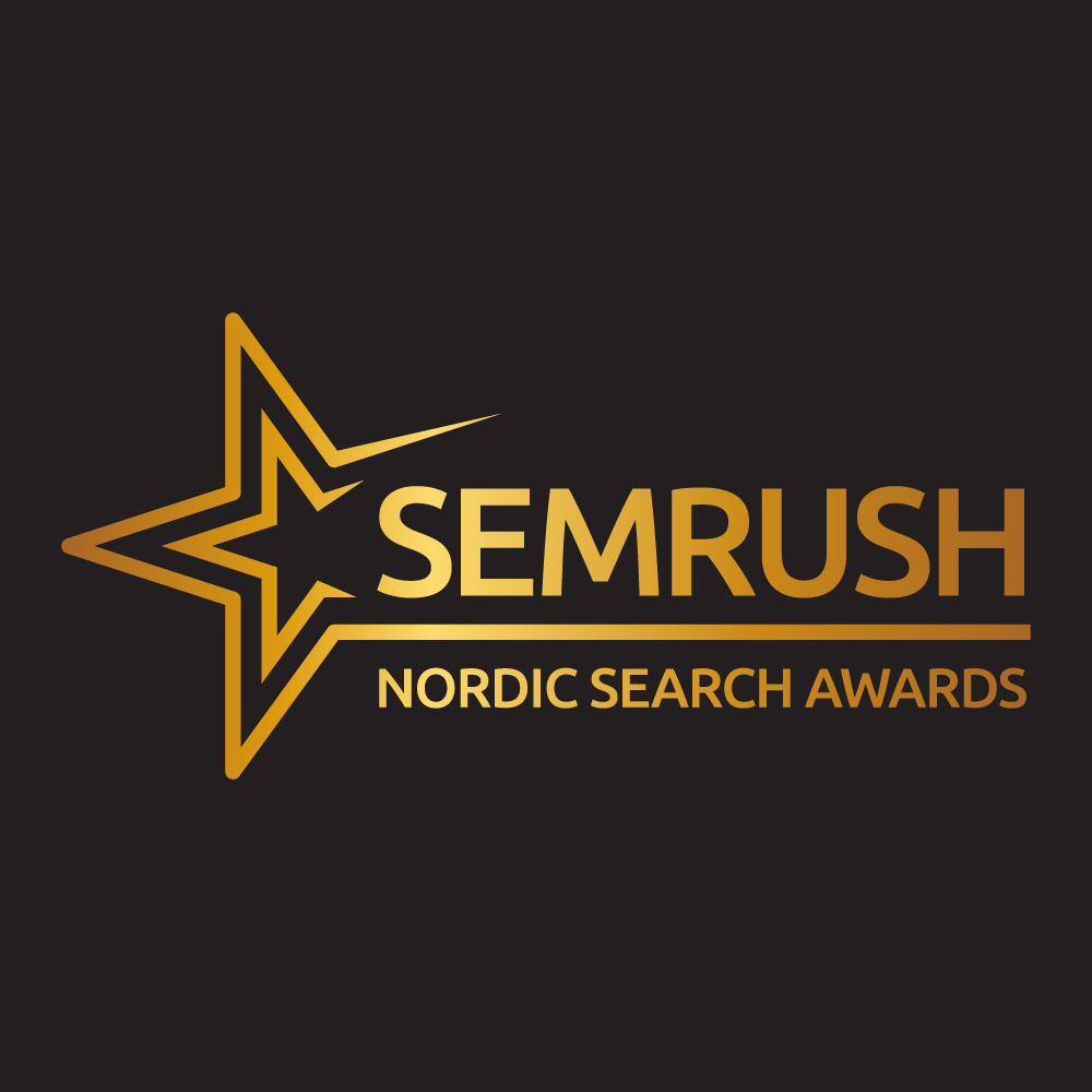 SEMrush Nordic Search Awards 2019 Logo