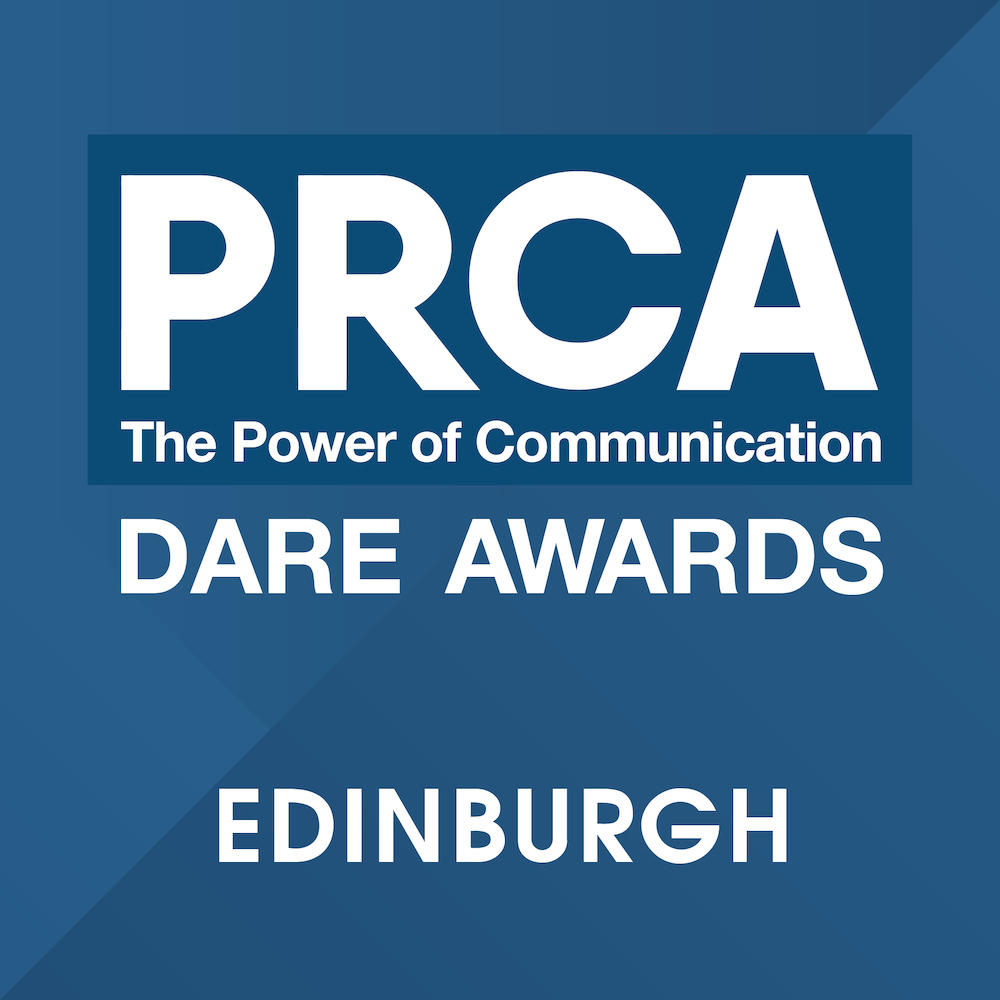 PRCA Dare Awards 2019 – Edinburgh Logo