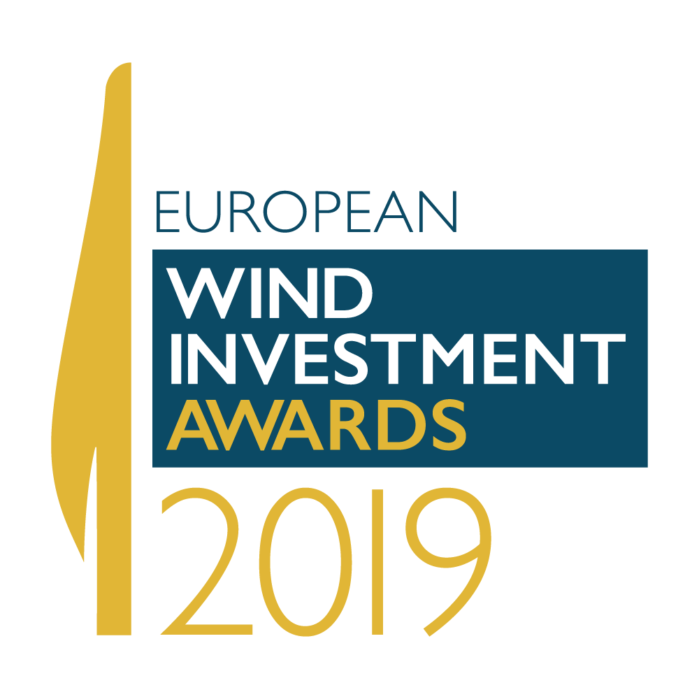 European Wind Investment Awards 2019 Logo