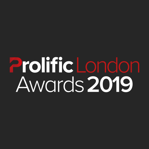 Prolific London Awards 2019 Logo