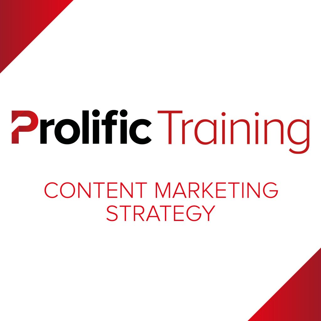 Prolific Training – Content Marketing Strategy Logo
