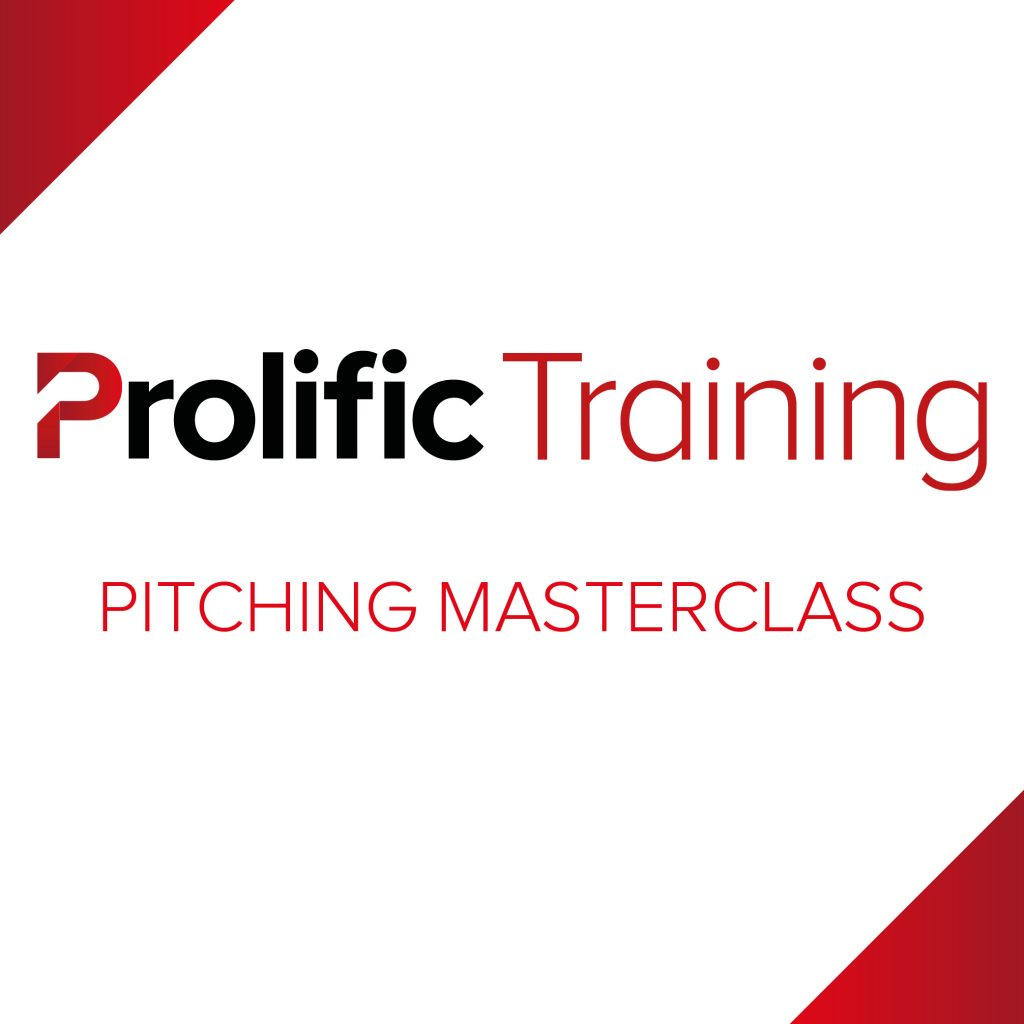 Prolific Training – Pitching Masterclass Logo