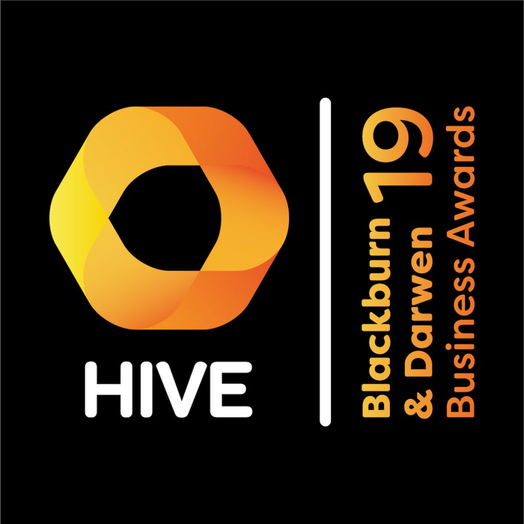 HIVE Blackburn & Darwen Business Awards 2019 Logo