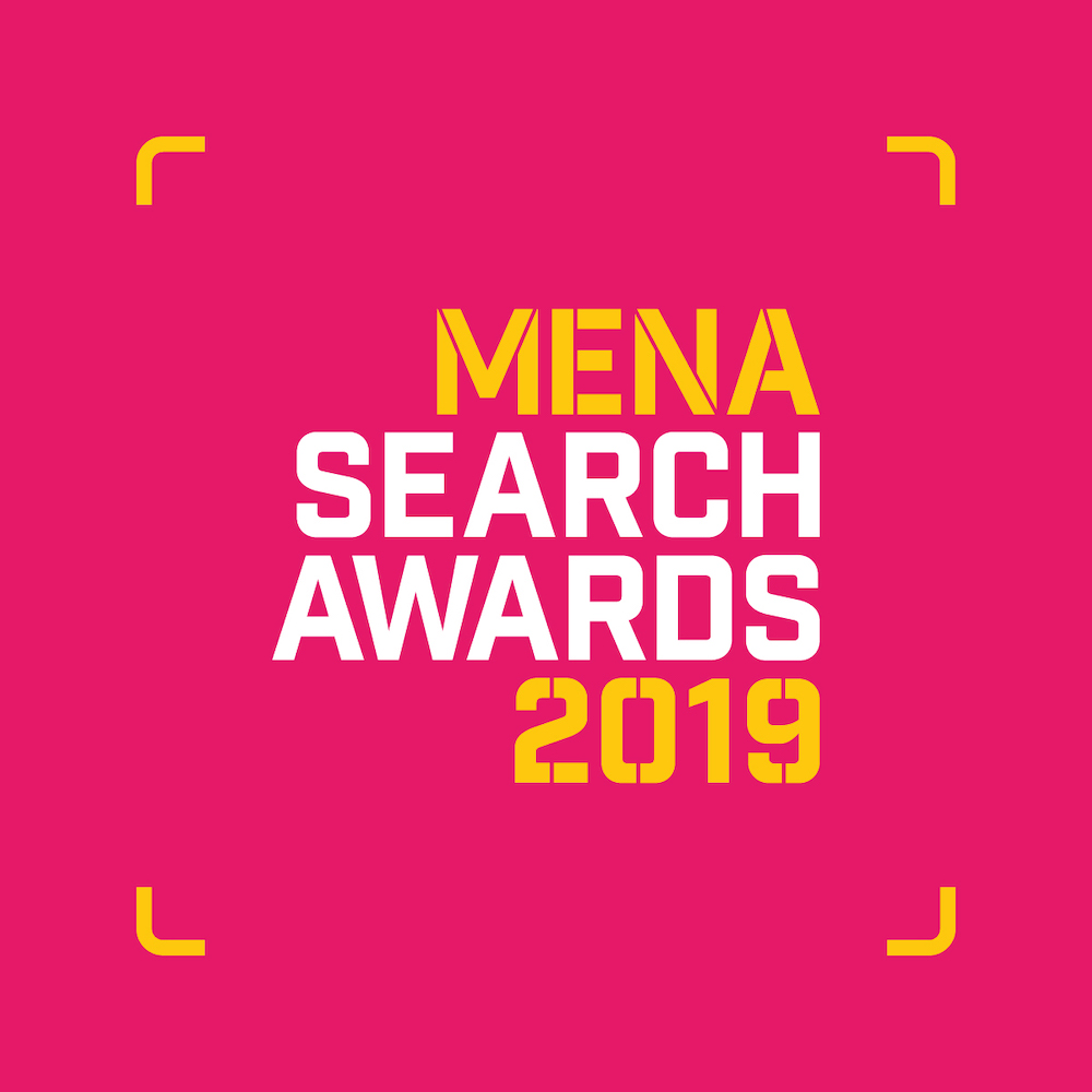 MENA Search Awards 2019 Logo
