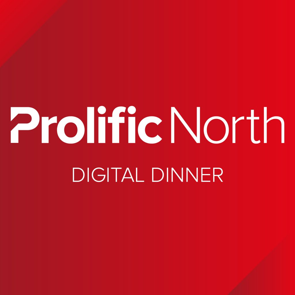 Prolific North Digital Dinner Logo
