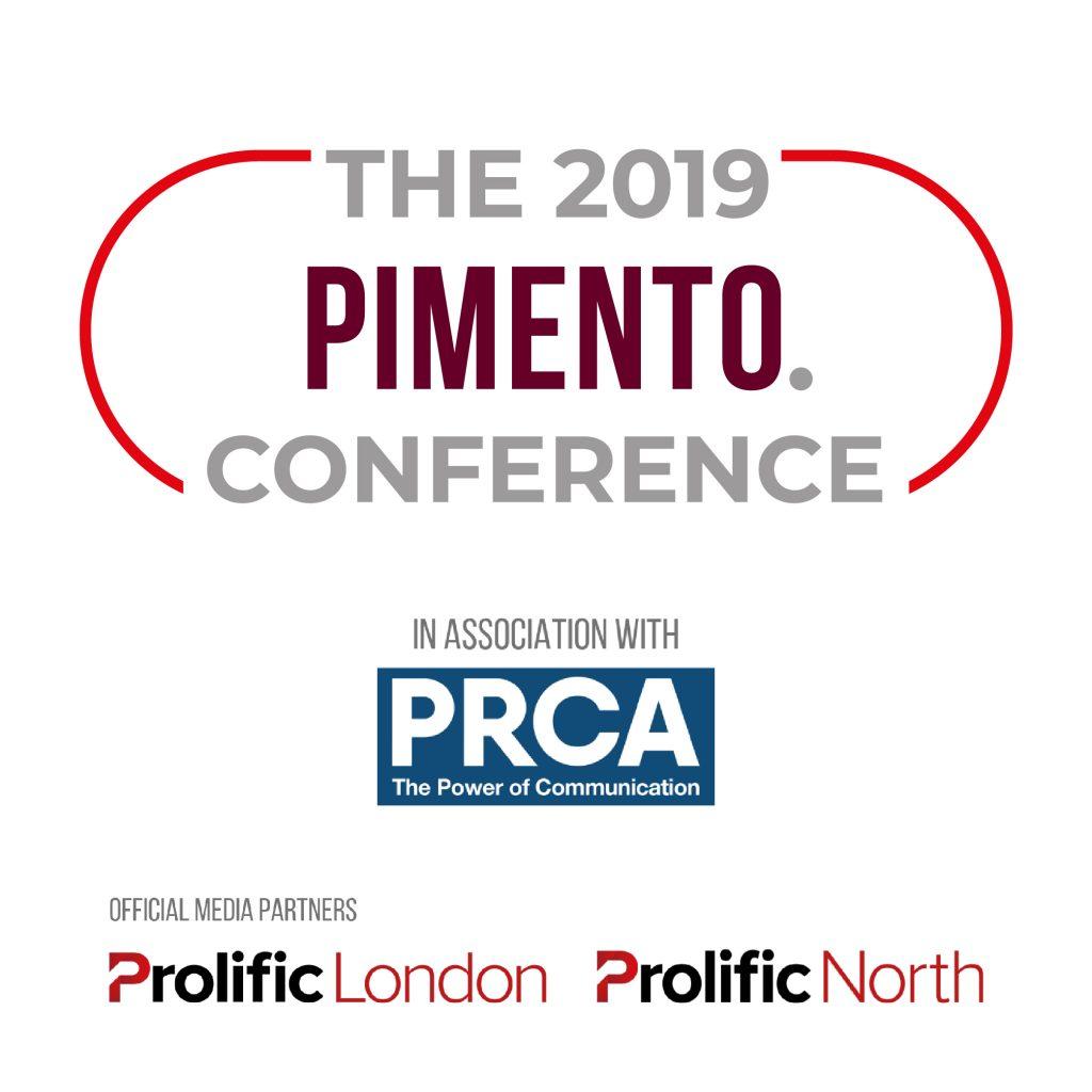 The 2019 Pimento Conference @ The UK Agency Awards Logo