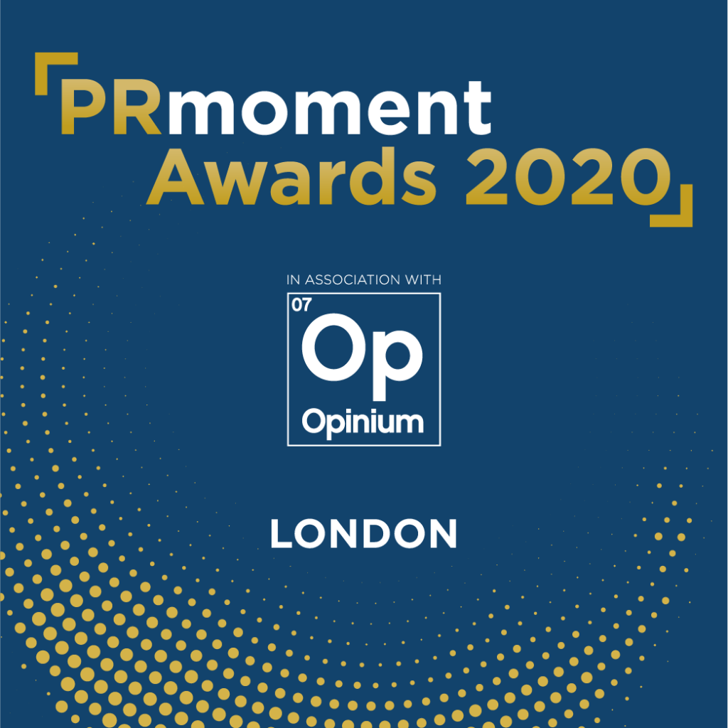 PRmoment Awards 2020 – London Logo