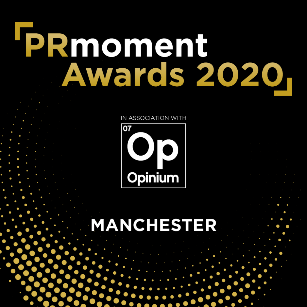 PRmoment Awards 2020 – Manchester Logo