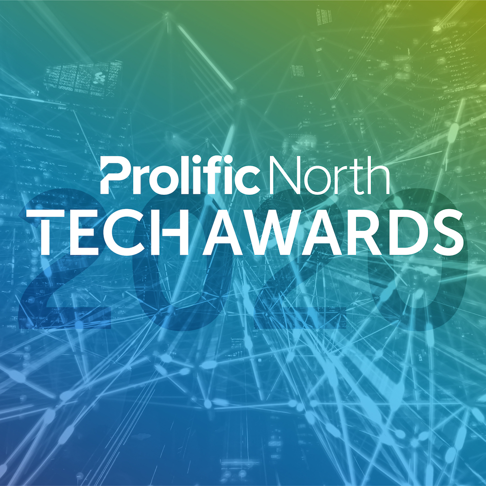 Prolific North Tech Awards 2020 Logo