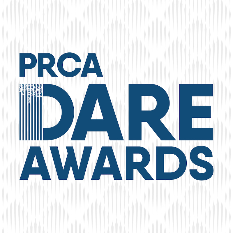 PRCA DARE Awards 2020 Logo
