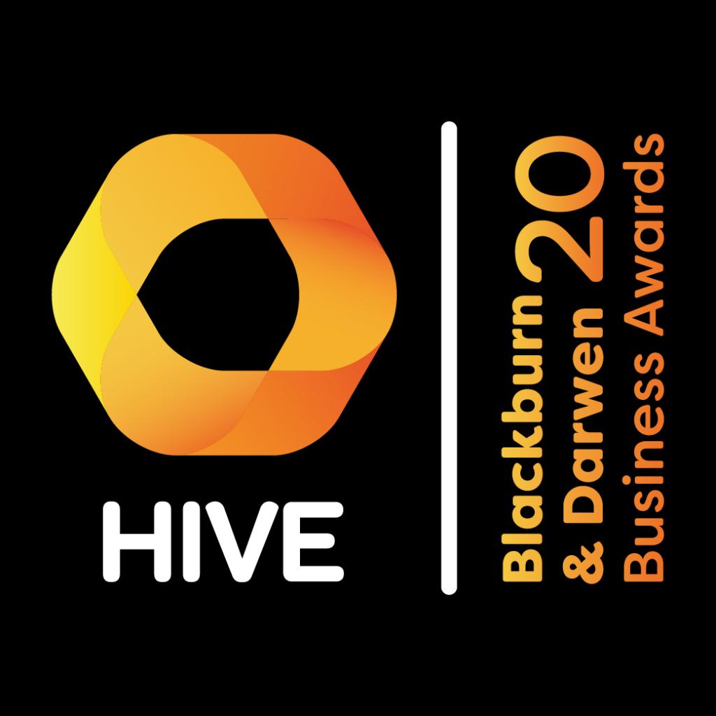 HIVE Blackburn & Darwen Business Awards 2020 Logo
