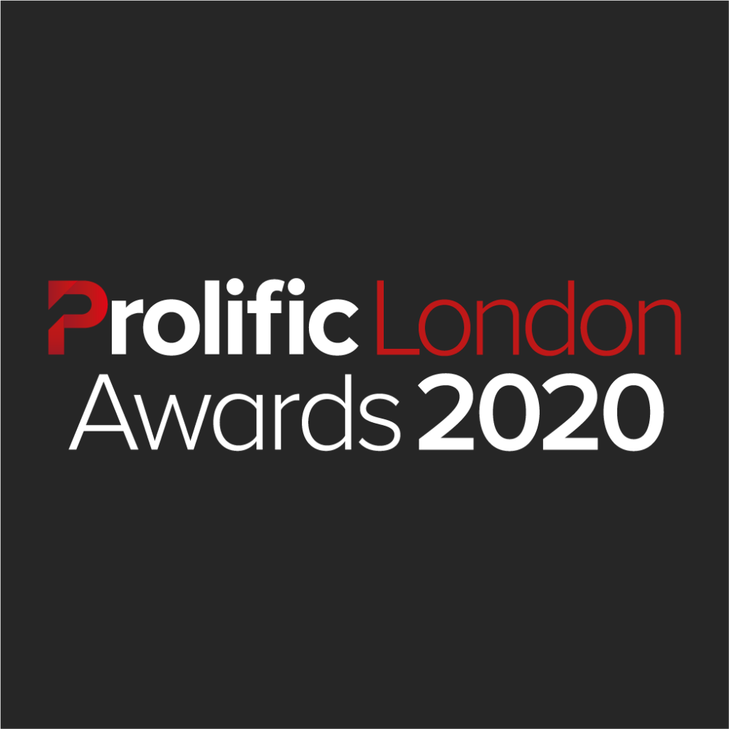 Prolific London Awards 2020 Logo