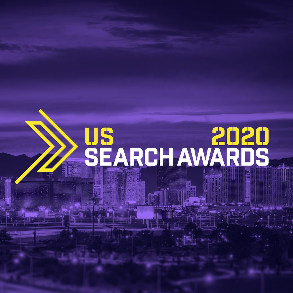 US Search Awards 2020 Logo