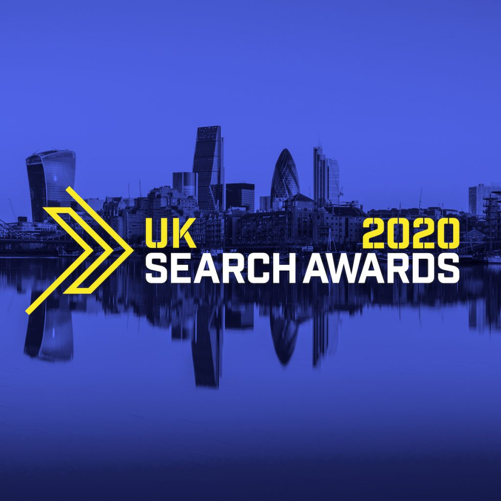 UK Search Awards 2020 Logo