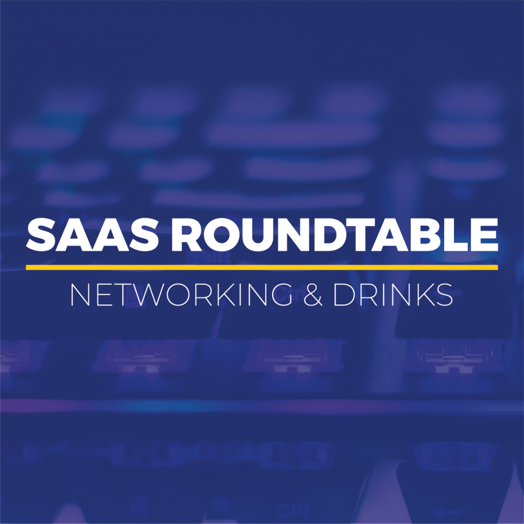 SAAS Roundtable – Networking & Drinks Logo