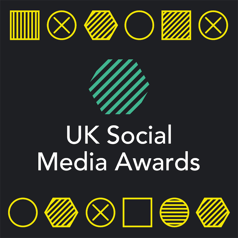 UK Social Media Awards 2020 Logo