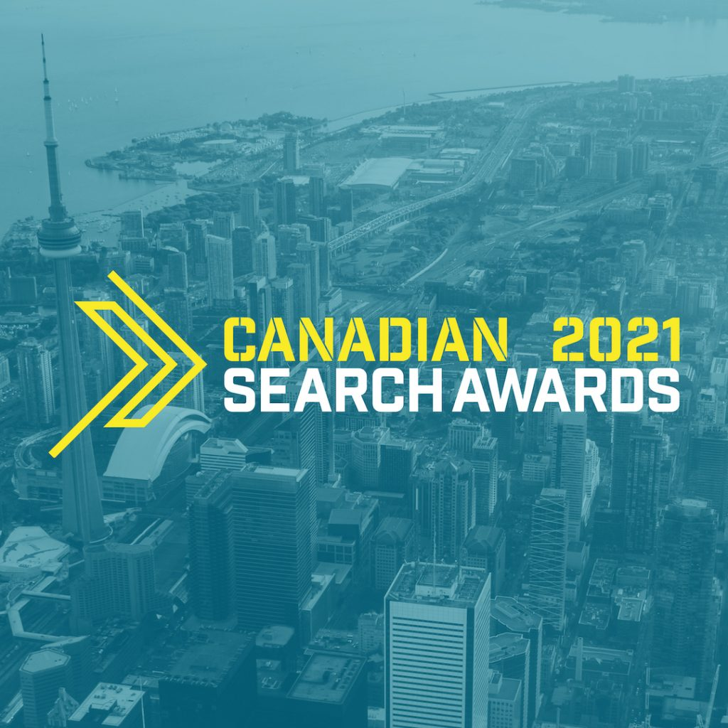 Canadian Search Awards 2021 Logo