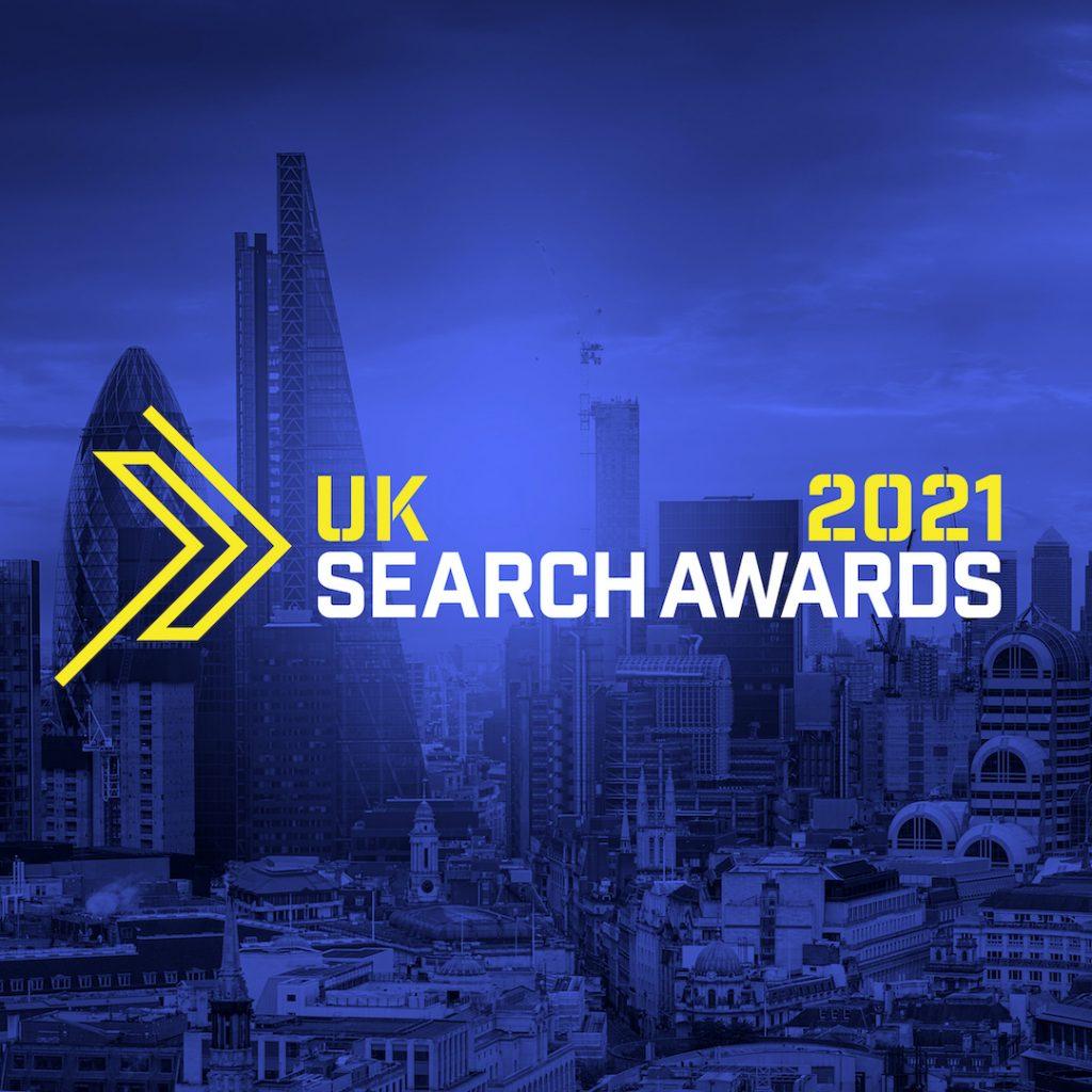 UK Search Awards 2021 Logo