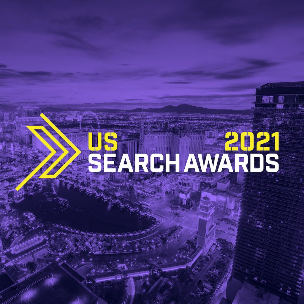 US Search Awards 2021 Logo