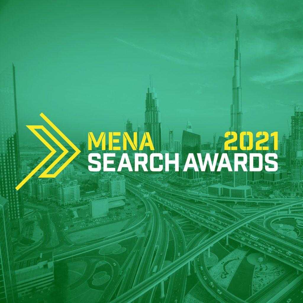 MENA Search Awards 2021 Logo