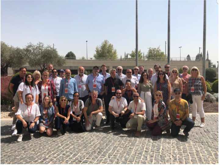 The Tribe Global community come together to share knowledge and experience