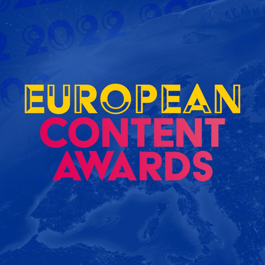 European Content Awards 2022 Logo