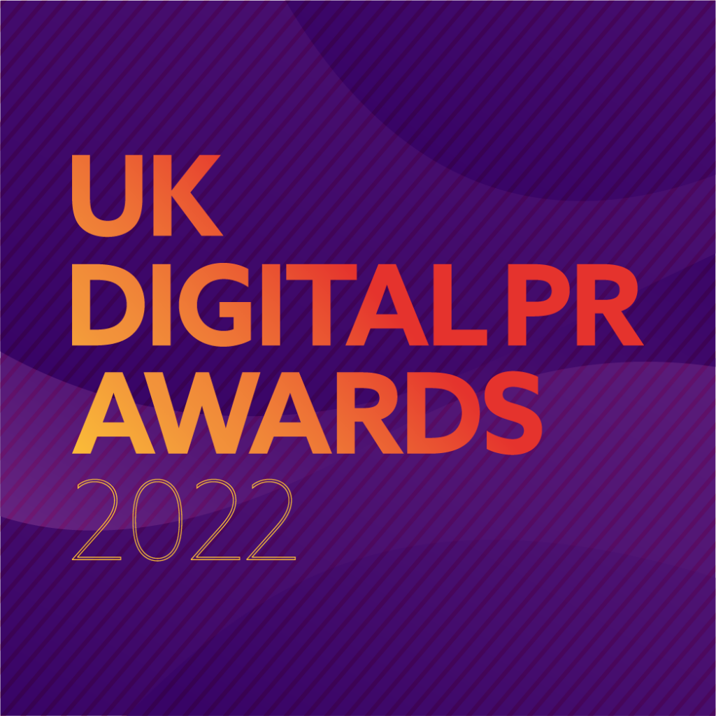 UK Digital PR Awards 2022 Logo